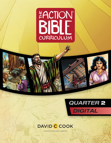 The Action Bible Curriculum Quarter 2 | Digital Edition