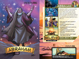 The Action Bible VBS card front and back