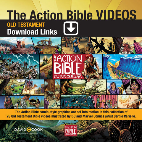 The Action Bible Video Downloads - Old Testament