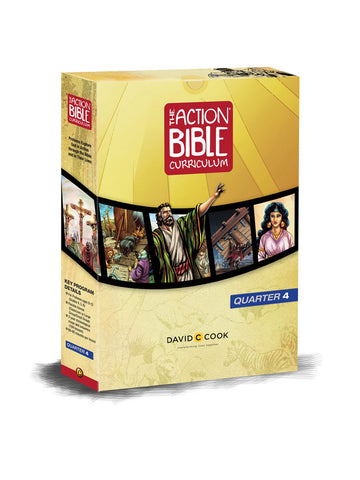 The Action Bible Curriculum Print Quarterly Kit Q4
