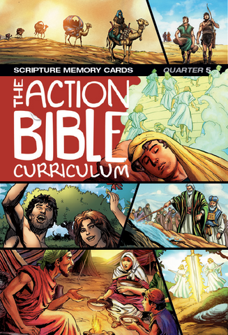 The Action Bible Scripture Memory Cards NIV®- Print Quarter 5