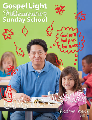 Elementary Bible Teaching Poster Pack Grades 1-4 - Fall Year C
