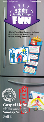 Elementary Fridge Fun Take Home Grades 1-4 - Fall Year C