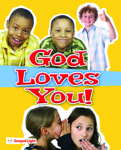 God Loves You Evangelism Booklet - Package of 20