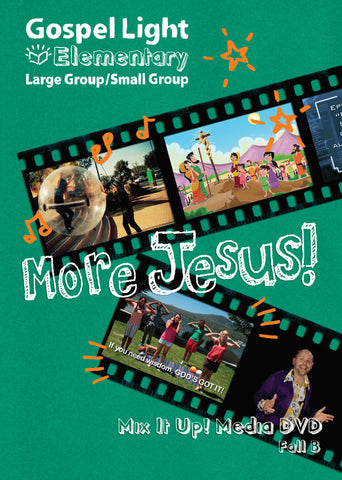Mix it Up! DVD - Elementary Large Group GR 1-4 - Fall Year B | Gospel Light