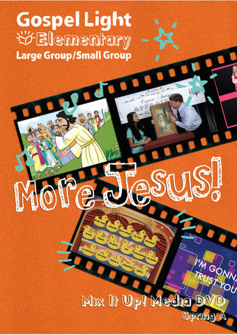 Mix it Up! DVD - Elementary Large Group GR 1-4 - Spring Year A | Gospel Light