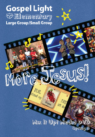Mix it Up! DVD - Elementary Large Group GR 1-4 - Spring Year B | Gospel Light