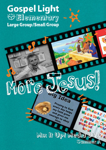 Mix it Up! DVD - Elementary Large Group GR 1-4 - Summer Year A | Gospel Light