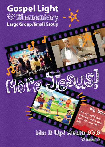 Mix it Up! DVD - Elementary Large Group GR 1-4 - Winter Year A | Gospel Light