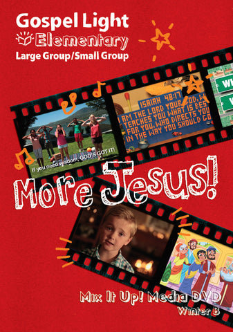 Mix it Up! DVD - Elementary Large Group GR 1-4 - Winter Year B | Gospel Light