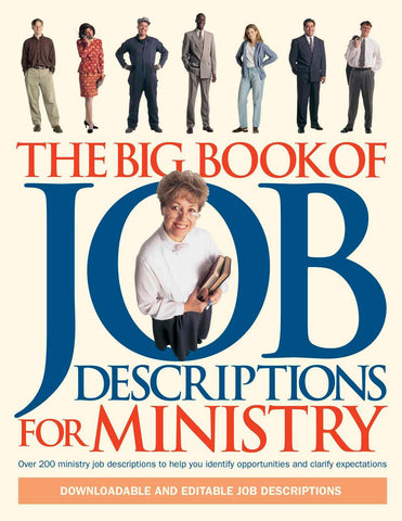 Big Book of Job Descriptions for Ministry