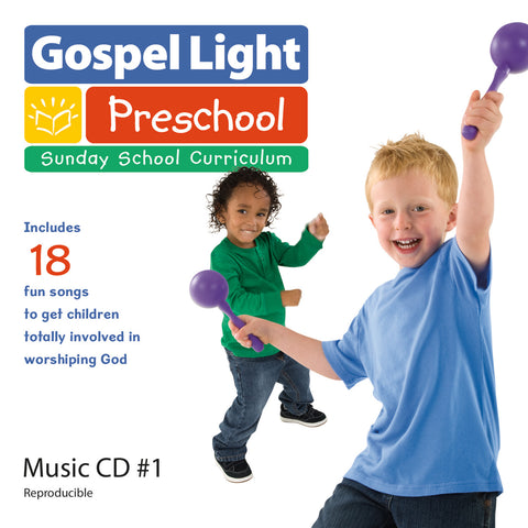 Preschool  Pre-K Music CD Year A