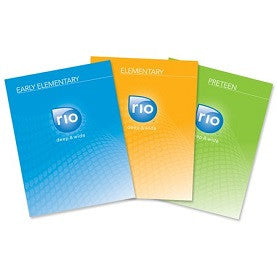 Rio Digital Kit: Early Elementary, Elementary & Pre-Teen-Fall Year 1