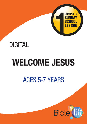 Bible-In-Life Lower Elementary Welcome Jesus