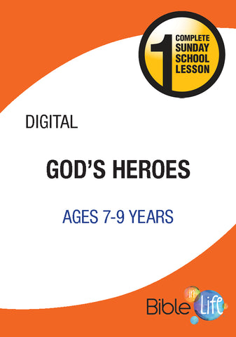 Bible-In-Life Elementary God's Heroes