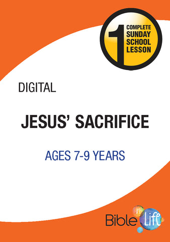 Bible-In-Life Elementary Jesus' Sacrifice
