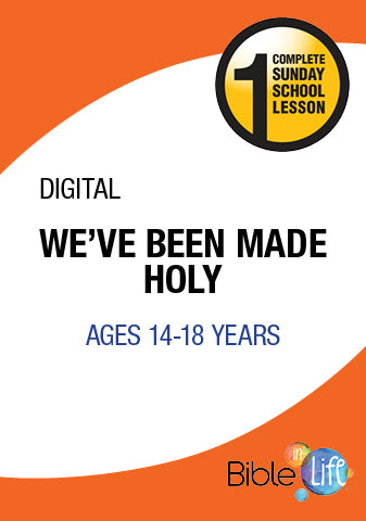 Bible-In-Life High School We've Been Made Holy