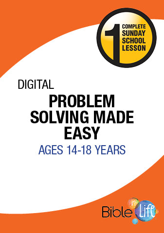 Bible-In-Life High School Problem Solving Made Easy