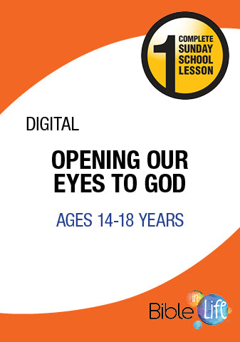 Bible-In-Life High School Opening Our Eyes to God