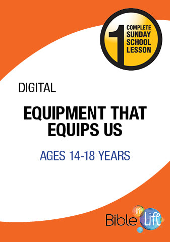 Bible-In-Life High School Equipment That Equips Us