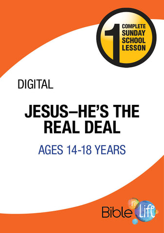 Jesus—He's the Real Deal!