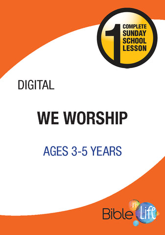 Bible-In-Life PreK We Worship