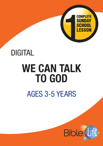 Bible-In-Life PreK We Can Talk to God