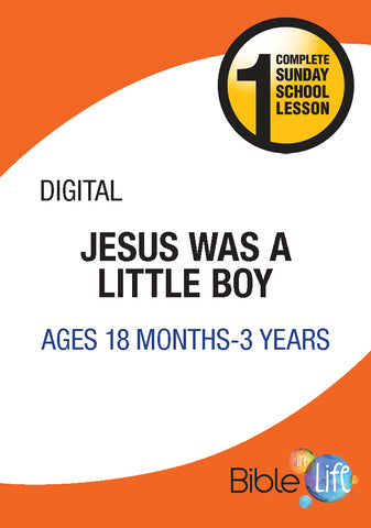 Jesus Was a Little Boy