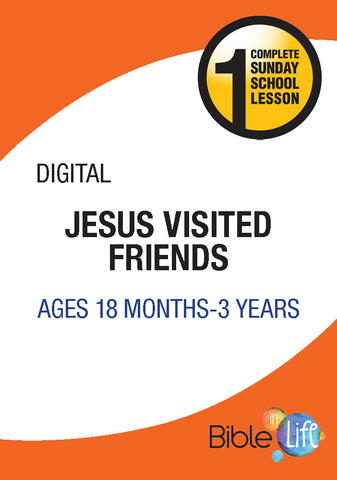 Jesus Visited Friends