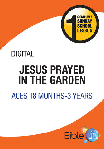 Jesus Prayed in the Garden