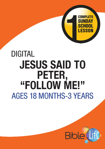 "Jesus Said to Peter, ""Follow Me!"""