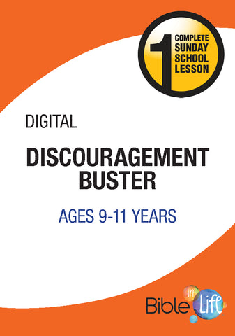 Bible-In-Life Upper Elementary Discouragement Buster