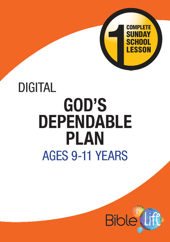Bible-In-Life Upper Elementary God's Dependable Plan