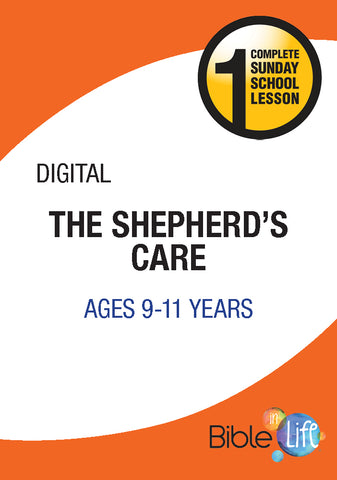 Bible-In-Life Upper Elementary The Shepherd's Care