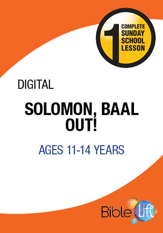 Solomon, Baal Out!