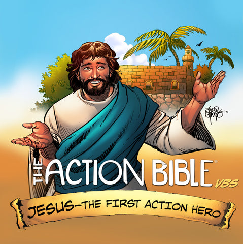 The Action Bible VBS Kit cover