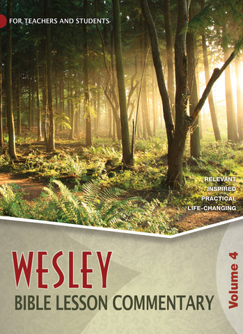 Wesley | Bible Lesson Commentary Volume 4