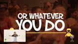 Whatever You Do Music Video - Seeds Family Worship