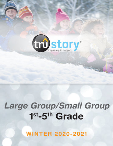 Tru story sunday school curriculum 1st through 5th grade winter