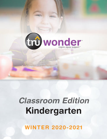 Tru Wonder Classroom Edition Kindergarten Winter