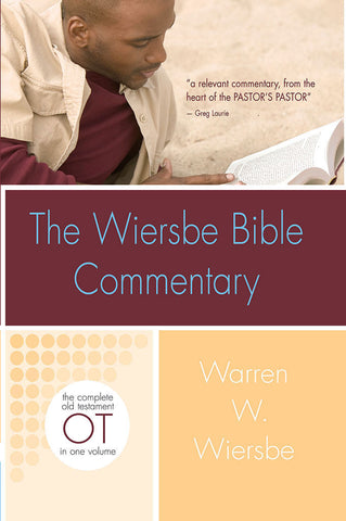Wiersbe Bible Commentary Old Testament - Warren Wiersbe | David C. Cook