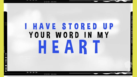 Your Word In My Heart Music Video - Seeds Family Worship
