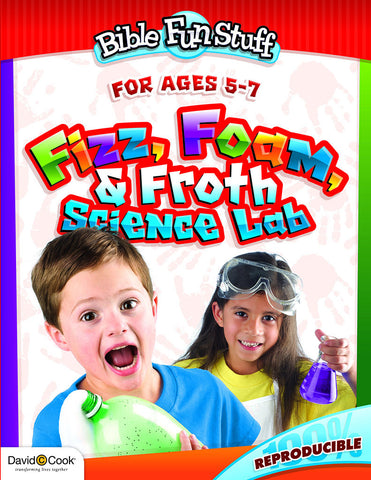 Bible Fun Stuff Fizz, Forth and Foam Science Lab