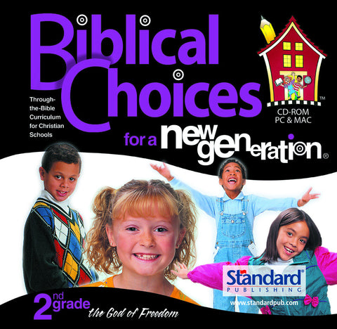 Biblical Choices - 2nd Grade CD-ROM