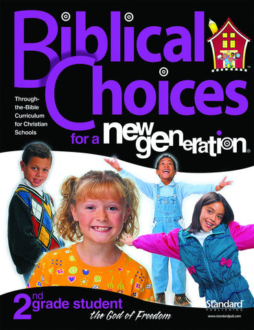 Biblical Choices - 2nd Grade Student Pack
