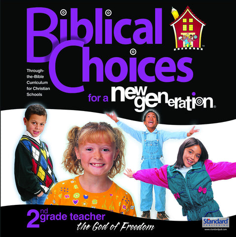 Biblical Choices - 2nd Grade Teacher's Kit