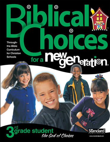 Biblical Choices - 3rd Grade Student Pack