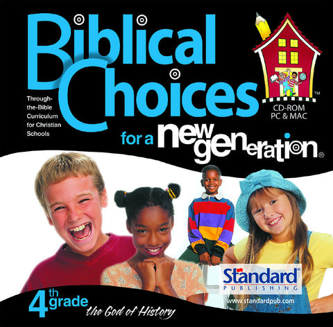 Biblical Choices - 4th Grade CD-ROM