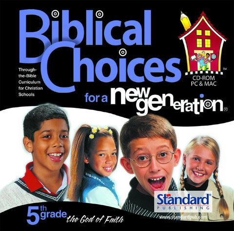 Biblical Choices - 5th Grade CD-ROM
