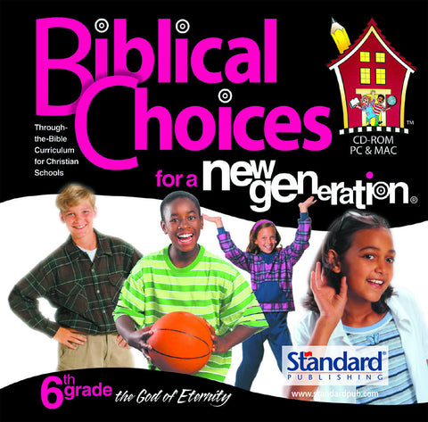 Biblical Choices - 6th Grade CD-ROM